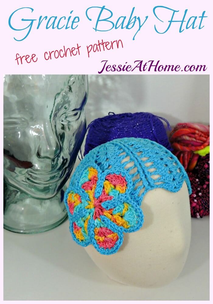 Gracie Baby Hat Free Crochet Pattern Jessie At Home