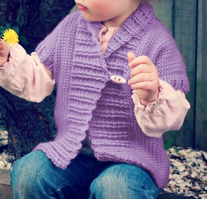 Shawl Collared Cardigan #CrochetKit from @beCraftsy