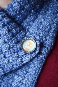 Bottle Cap Button for Cowl