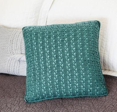 Everyday Lace Pillow Craftsy Crochet Kit