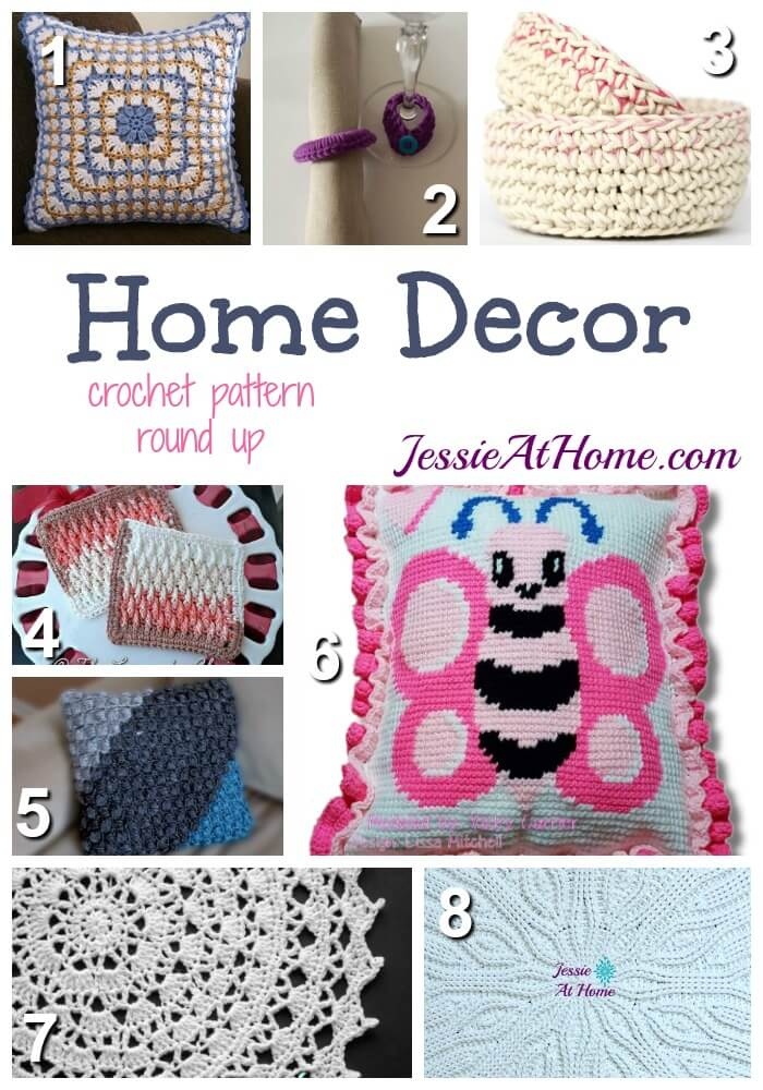 Home Decor Decorate Your Home With Crochet Jessie At Home
