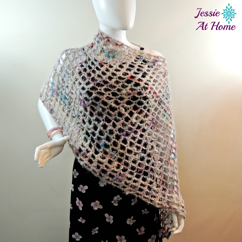 Phoebe Poncho - quick and easy summer crochet pattern!   Jessie At Home