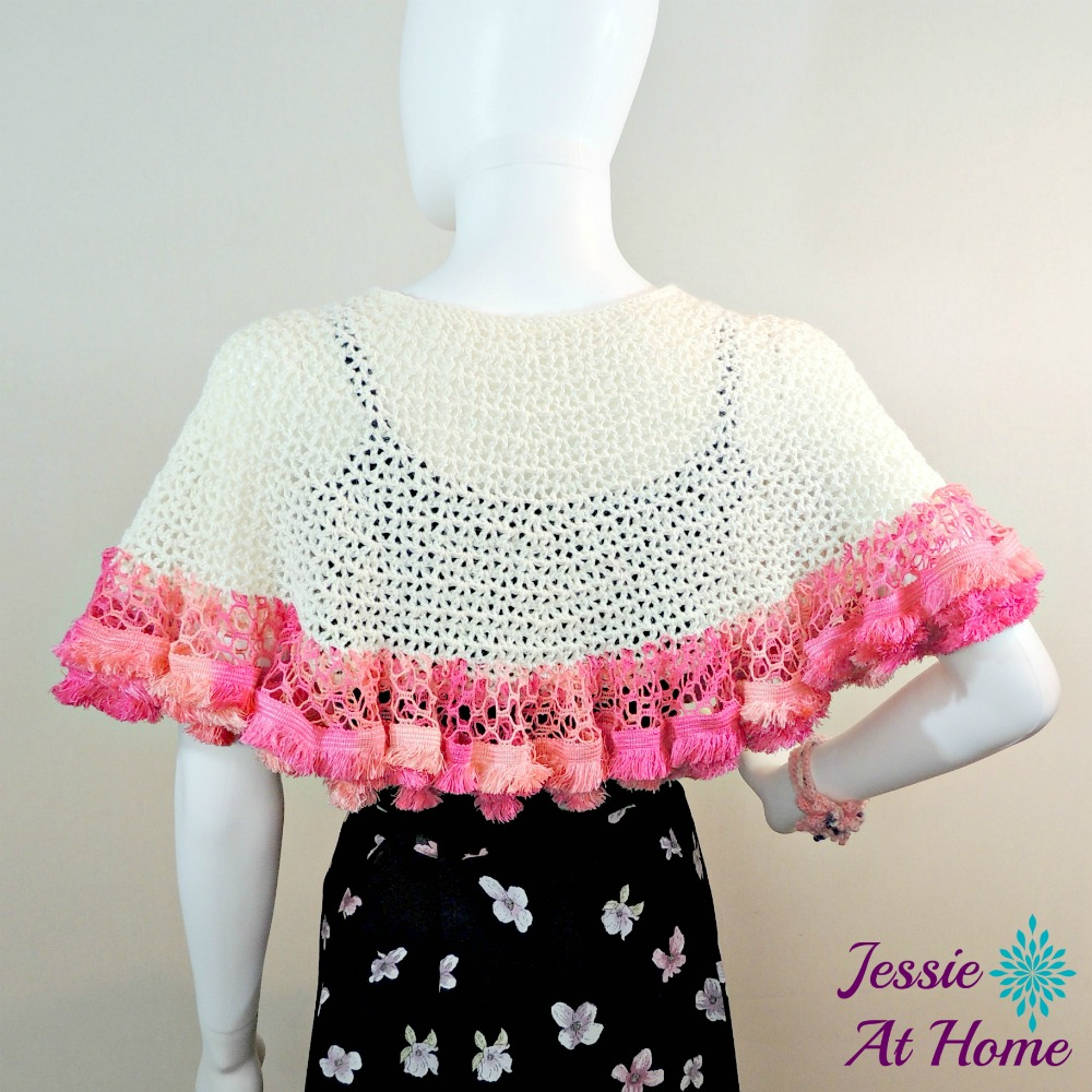 Winter White Sashay Capelet-free crochet pattern by Jessie At Home-2