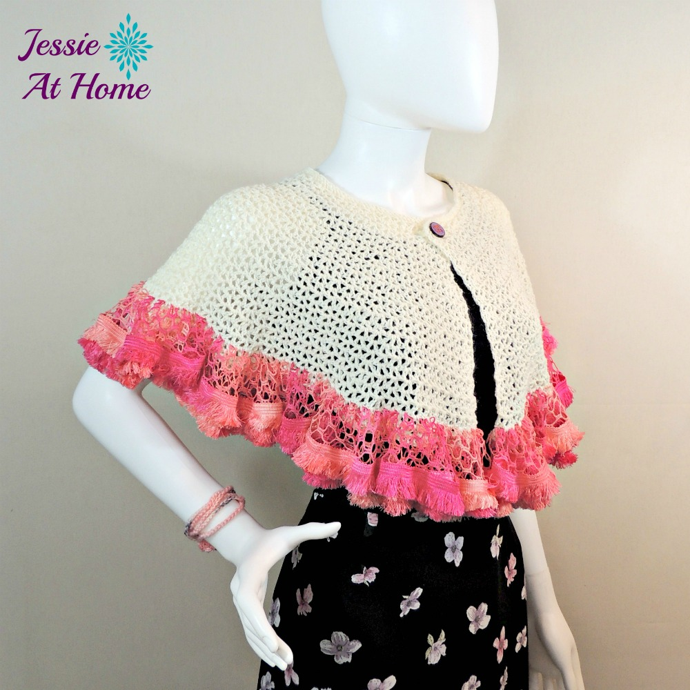 Winter White Sashay Capelet-free crochet pattern by Jessie At Home-3