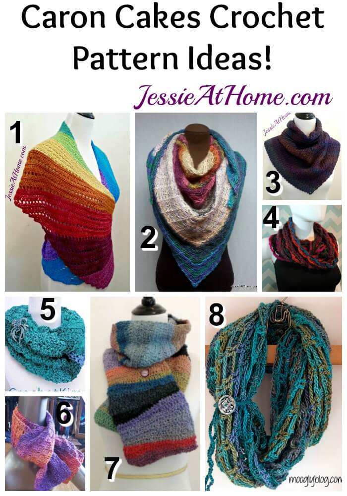 Caron Cakes Pattern Ideas Crochet Pattern Round Up Jessie At Home