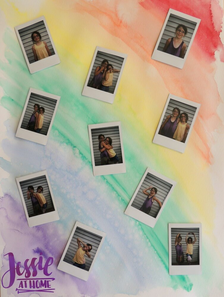 instax® wall art tutorial by Jessie At Home - 4