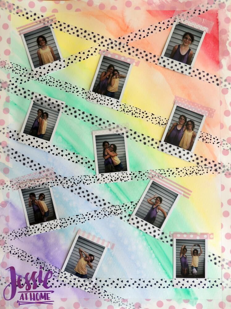 instax® wall art tutorial by Jessie At Home - 5