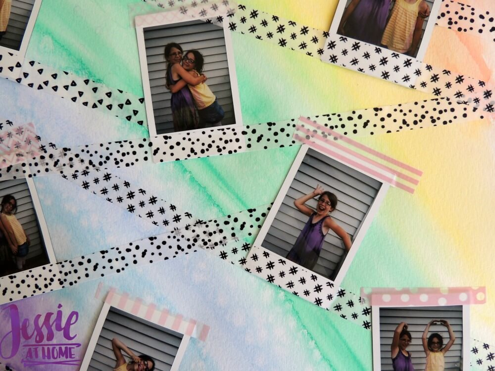 instax® wall art tutorial by Jessie At Home - bottom
