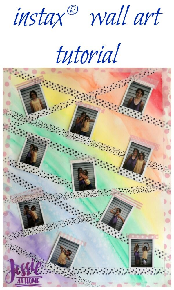 instax® wall art tutorial by Jessie At Home