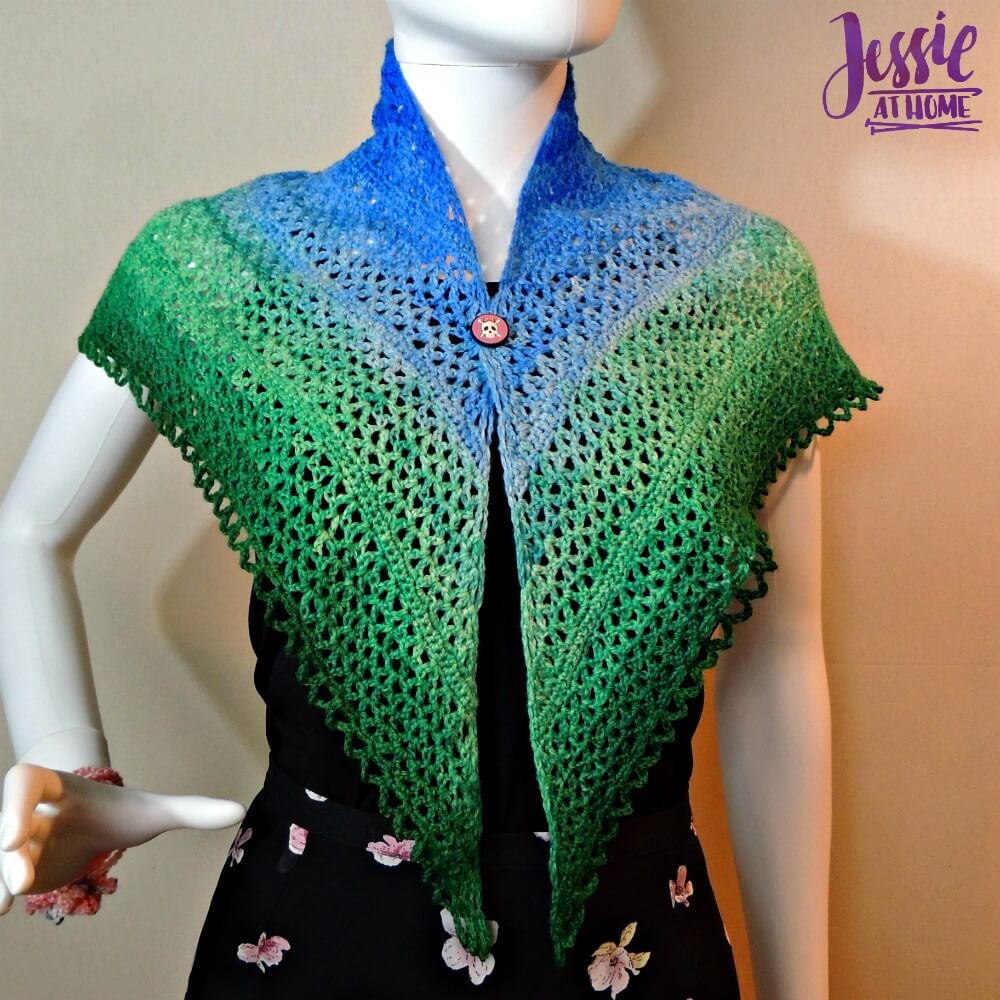 Julie Shawl - free crochet pattern by Jessie At Home - 1