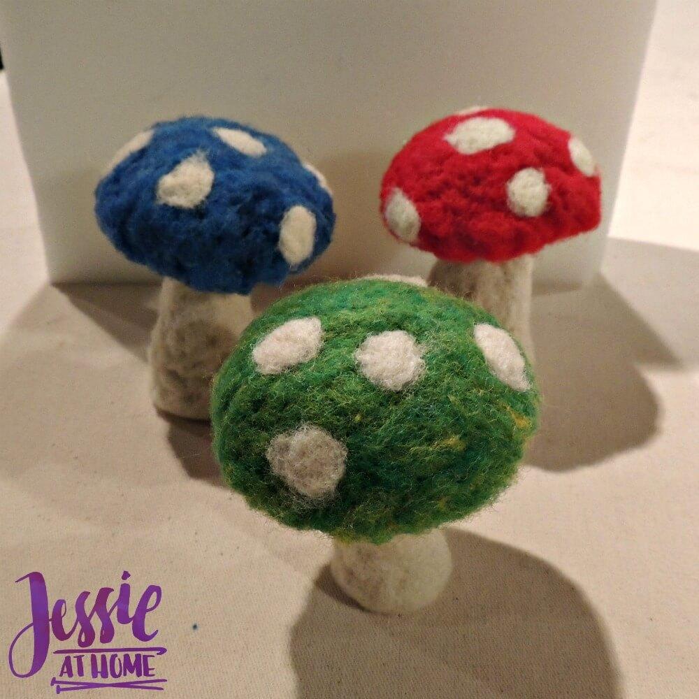 going-gnome-felting-kit-mushrooms-finished
