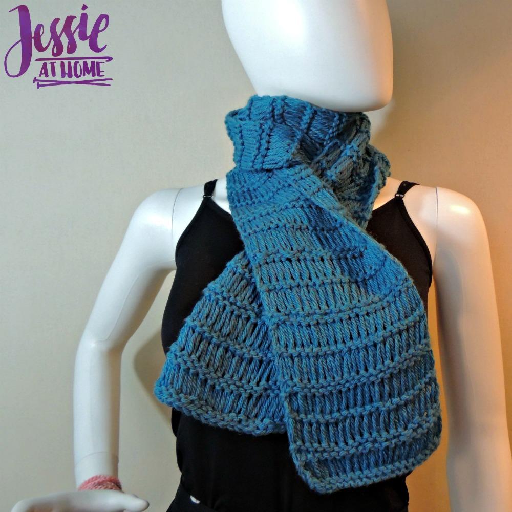 Basic Drop Stitch Scarf | Jessie At Home