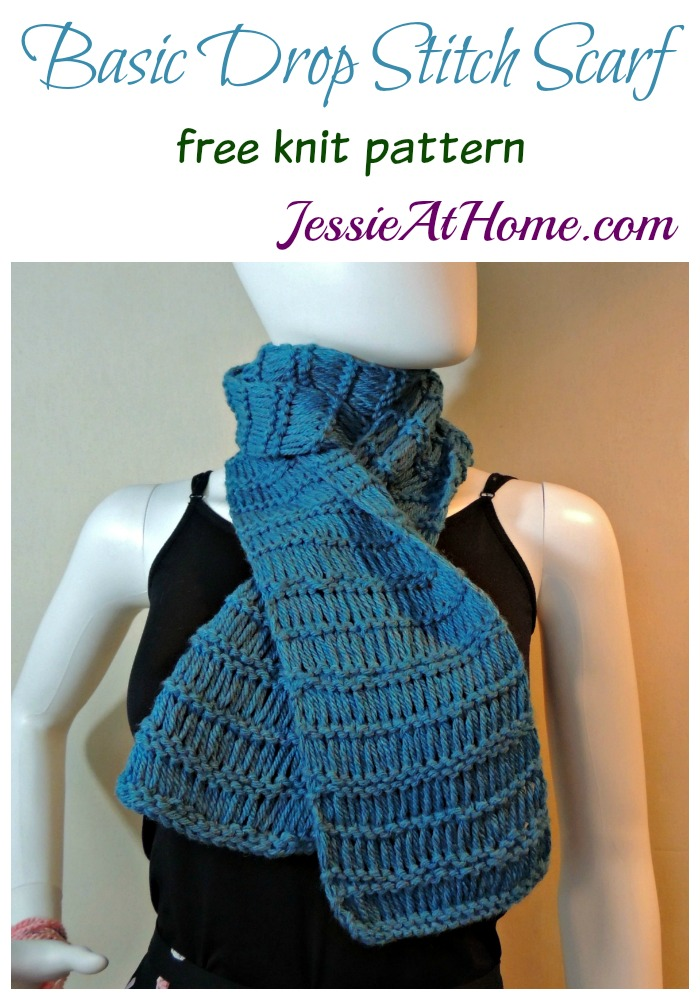 Basic Drop Stitch Scarf Jessie At Home