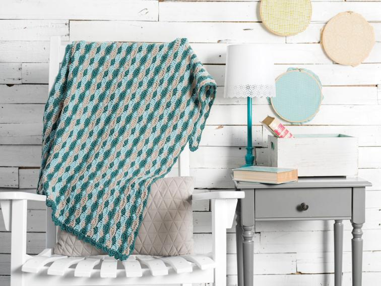 At The Shore Blanket Craftsy Crochet Kit