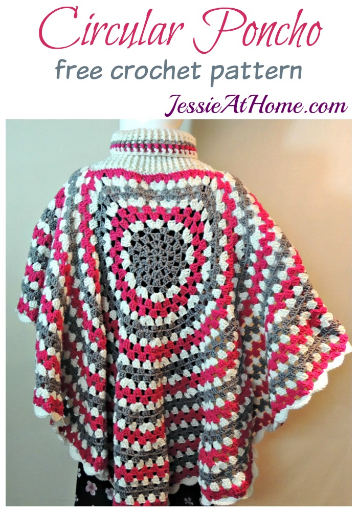 Circular Poncho Jessie At Home