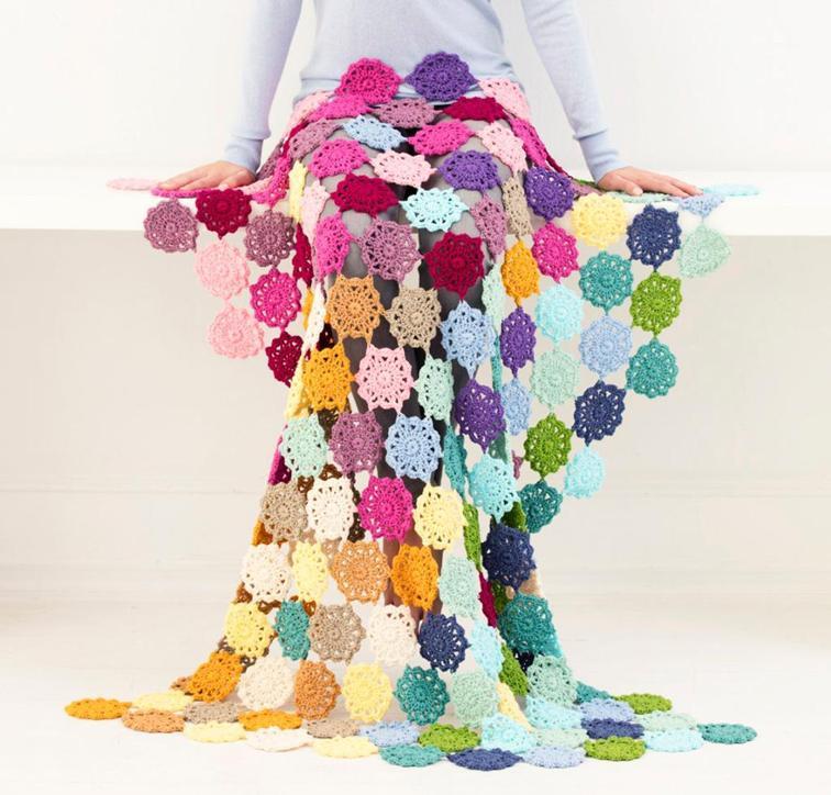 Garden State Afghan Craftsy Crochet Kit