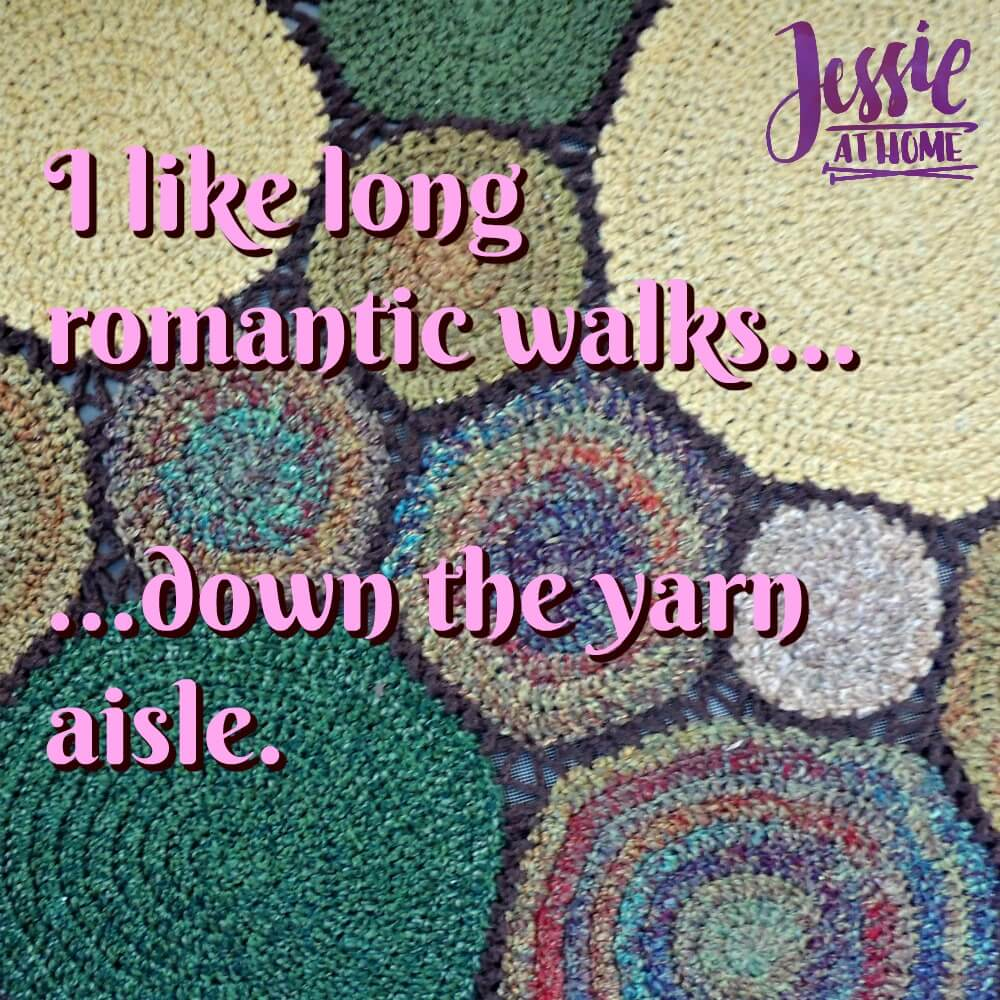 romance in the yarn aisle