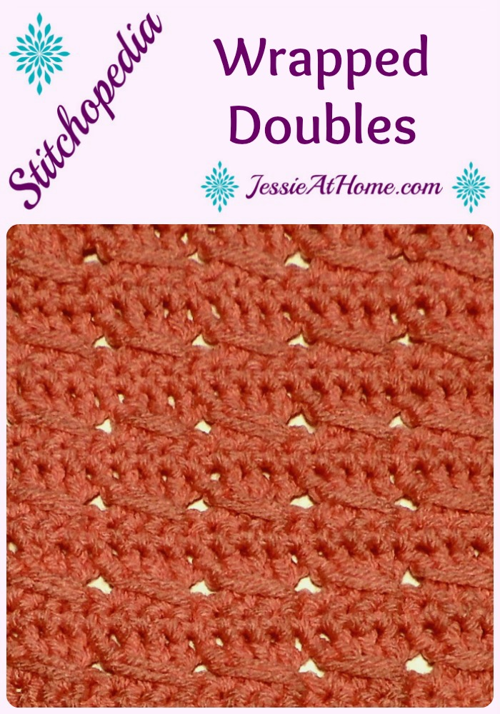 Stitchopedia - Wrapped Doubles from Jessie At Home - Pinterest