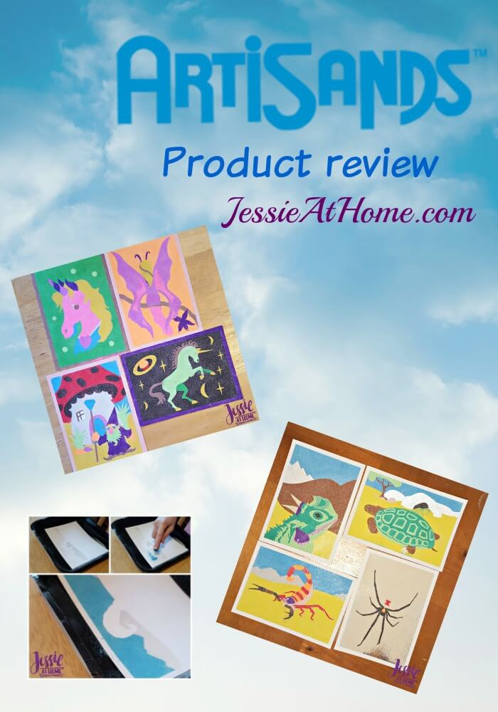 ArtiSands product review from Jessie At Home.com