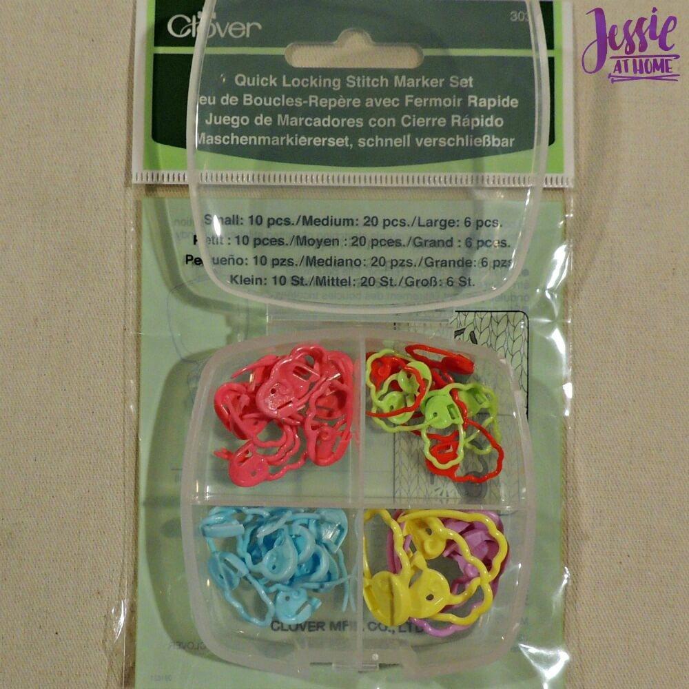 Clover Stitch Marker Set