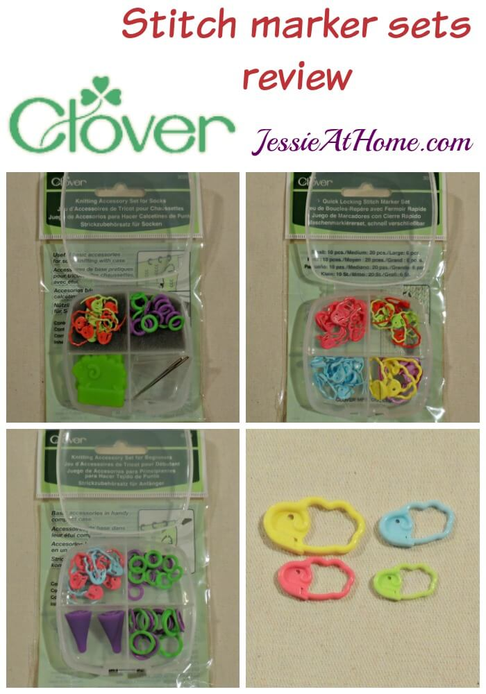 Clover Stitch marker Sets review from Jessie At Home