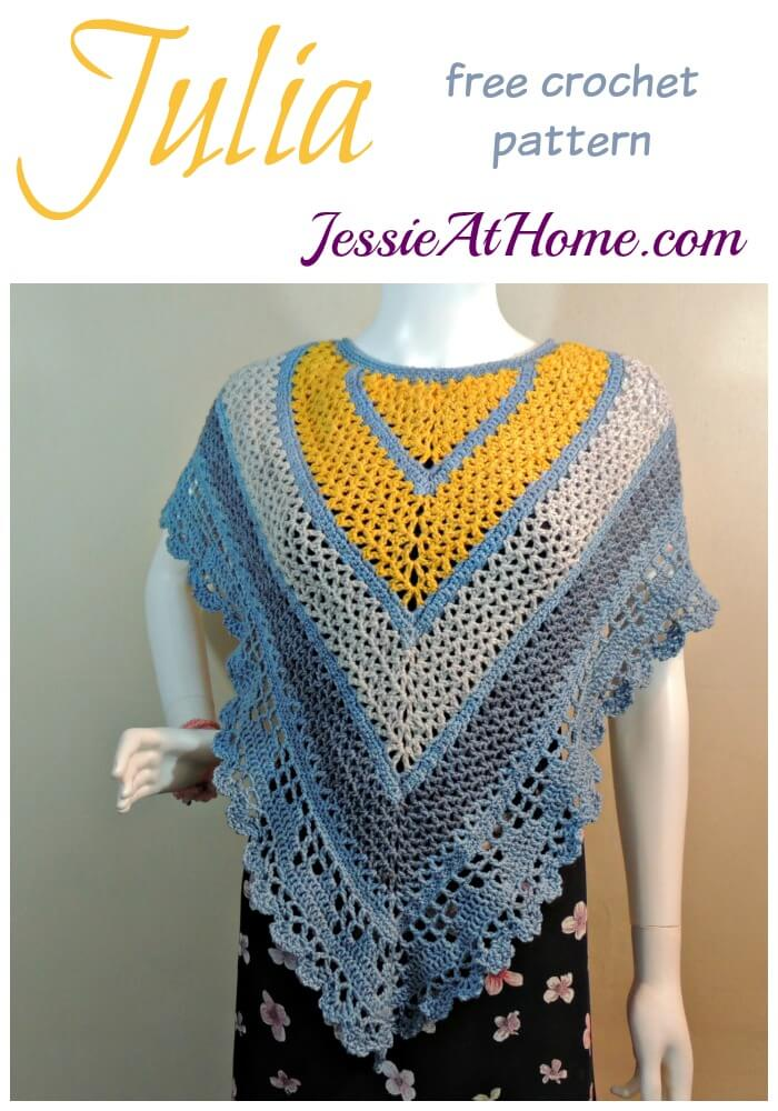 Julia free crochet pattern by Jessie At Home