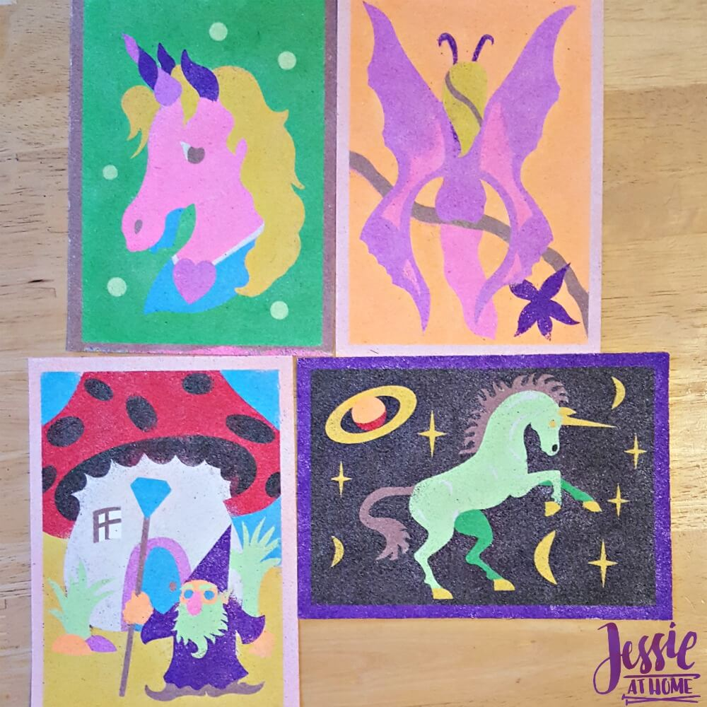 Some of Kyla's ArtiSands creations