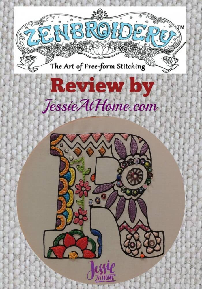 Zenbroidery review from Jessie At Home
