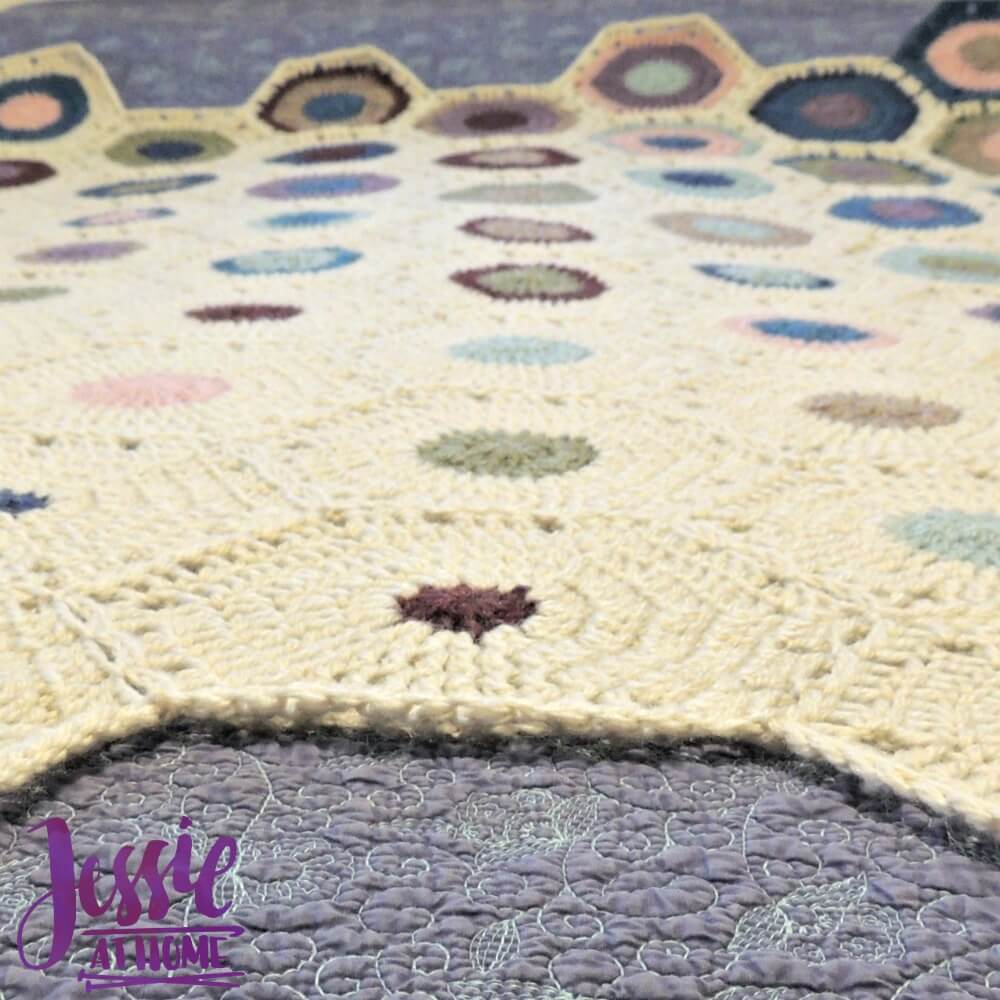 Hexagon Fade Crochet Pattern by Jessie At Home - 4