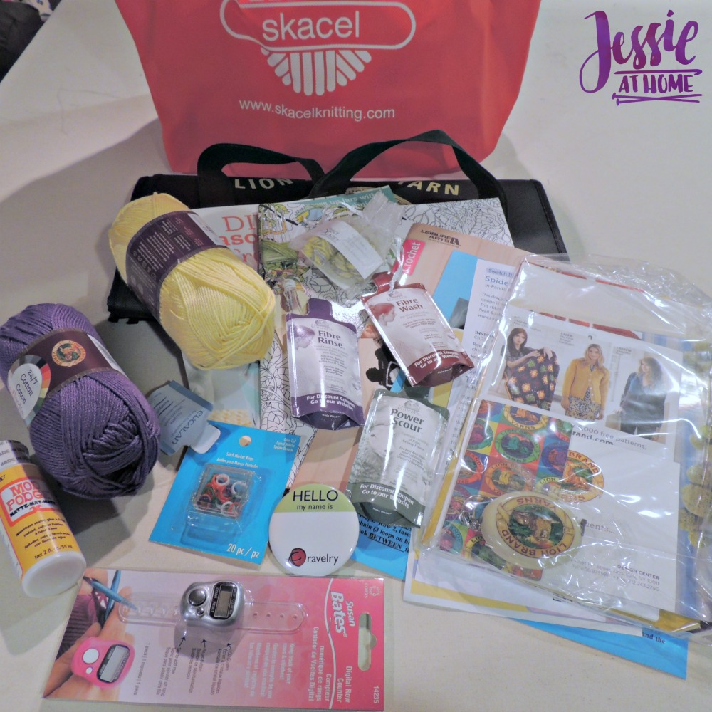 April 2017 Jessie At Home Goodie Bag