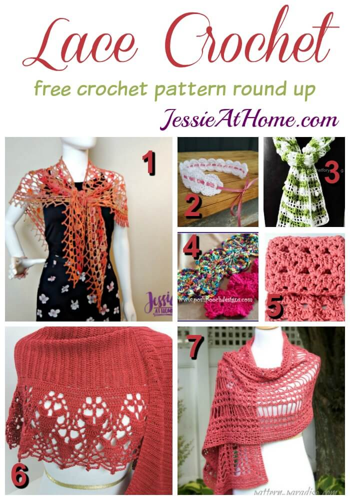 Crochet Lace Patterns Jessie At Home