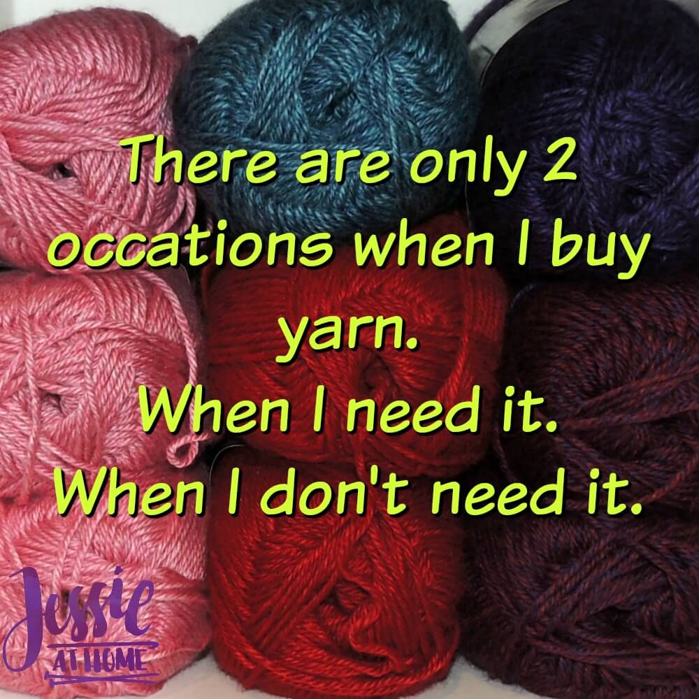 When to buy yarn