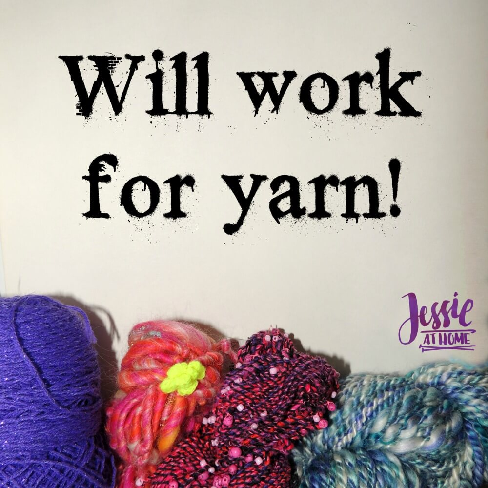 Will work for yarn