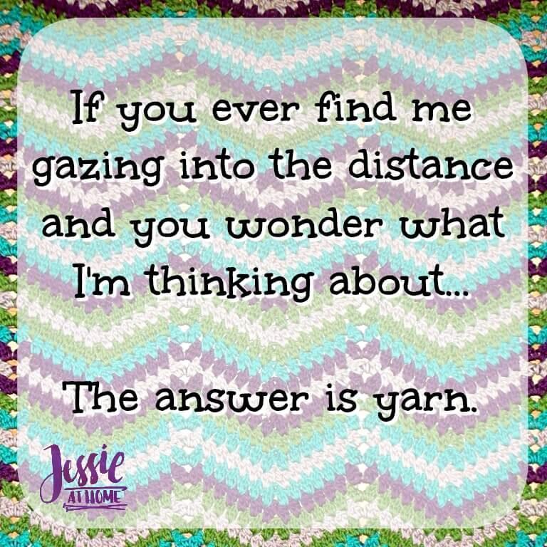Gazing Into Yarn