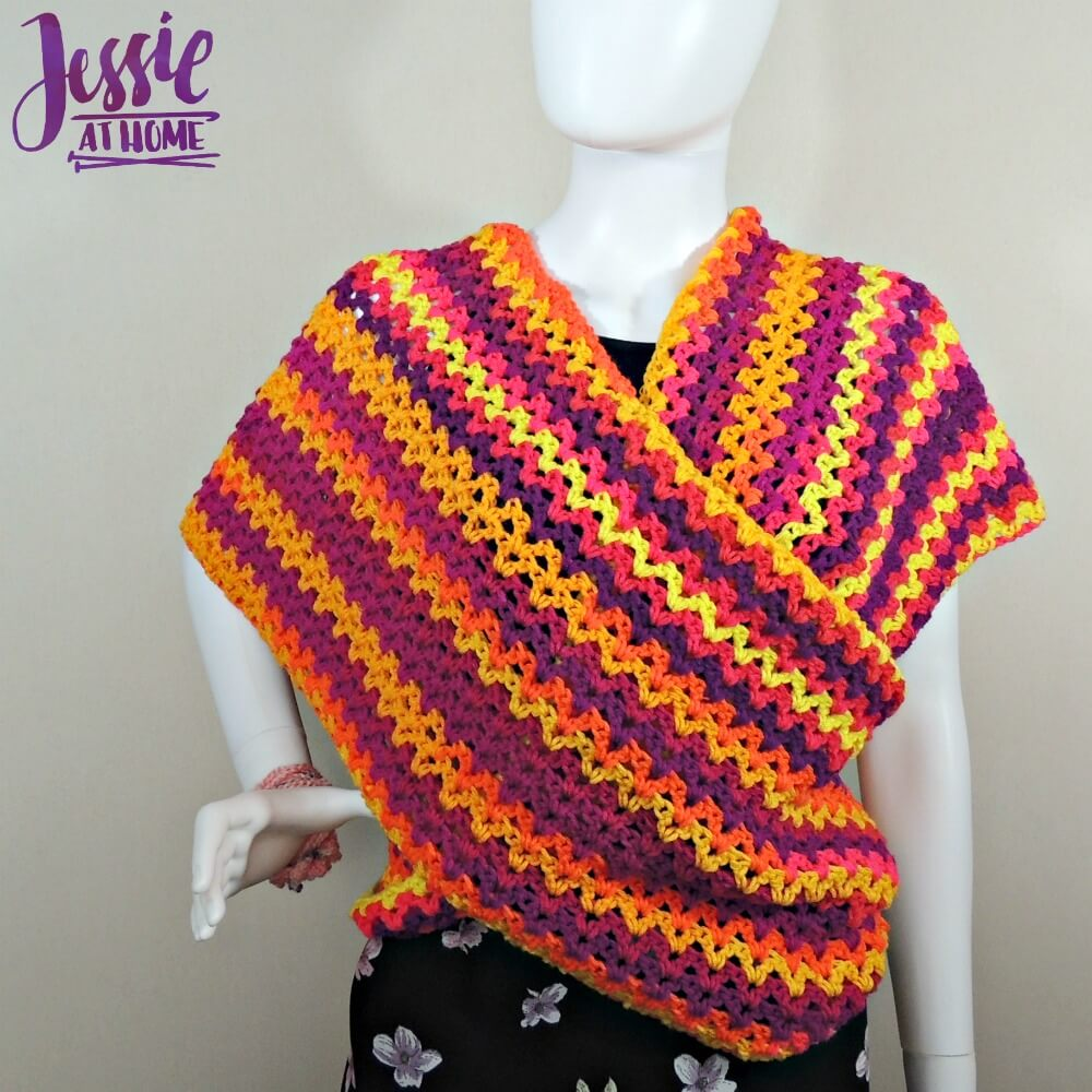 Wrap Me Up free crochet pattern by Jessie At Home - 2