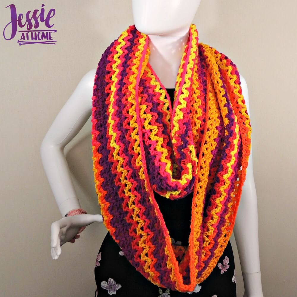 Wrap Me Up free crochet pattern by Jessie At Home - 5