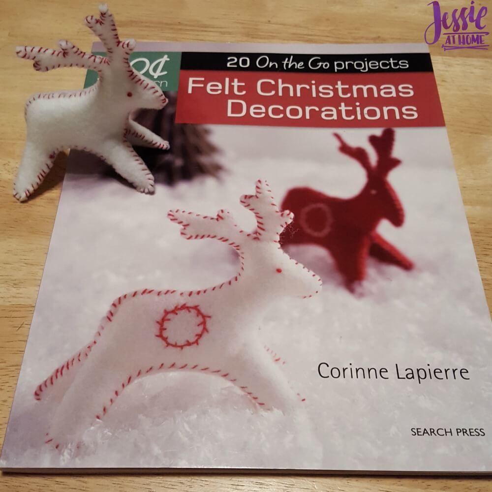 Felt Christmas Decorations Cover