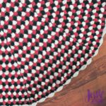 Granny Stripe Tree Skirt free crochet pattern by Jessie At Home - 1
