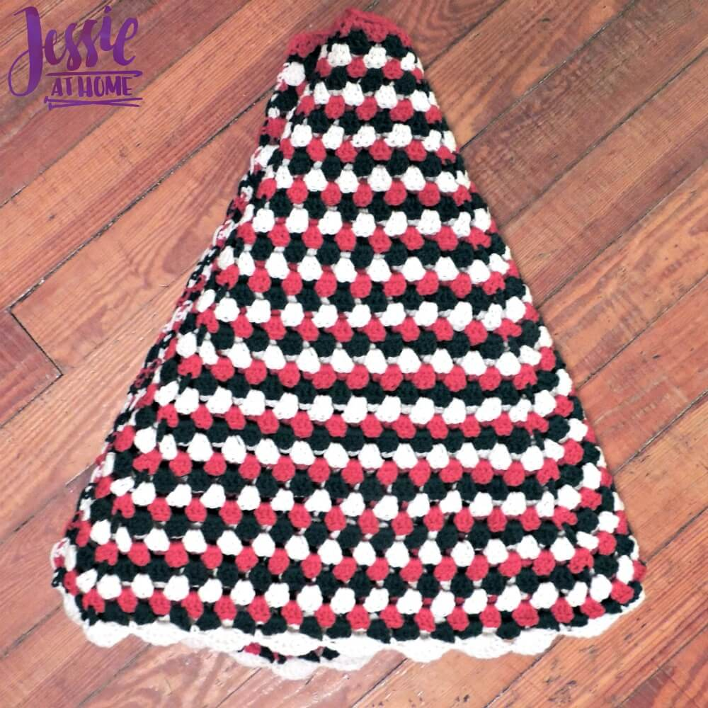 Free Crochet Tree Skirt Pattern Magnificent Decorating Design