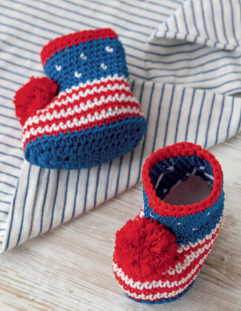 Crocheted Baby Shoes Jessie At Home