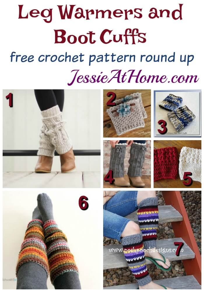 Crochet Leg Warmers And Boot Cuffs Jessie At Home