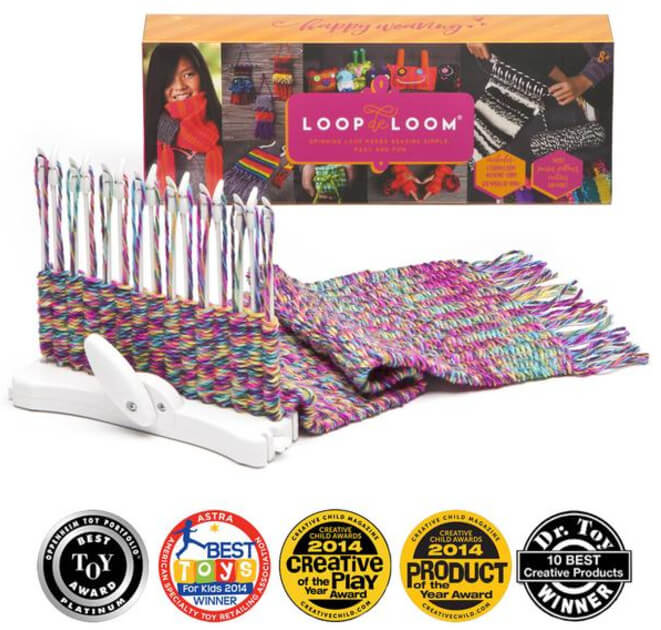 Loopdeloom weaving kit review from Jessie At Home - kit image