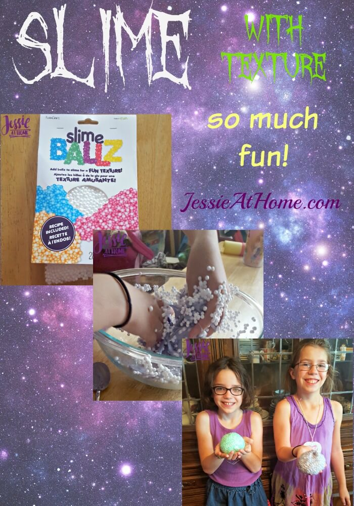 Slime with texture review from Jessie At Home
