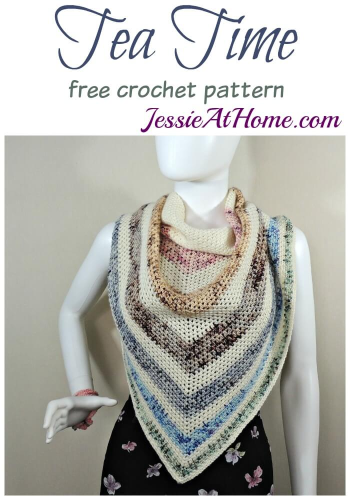 Tea Time - free crochet pattern by Jessie At Home