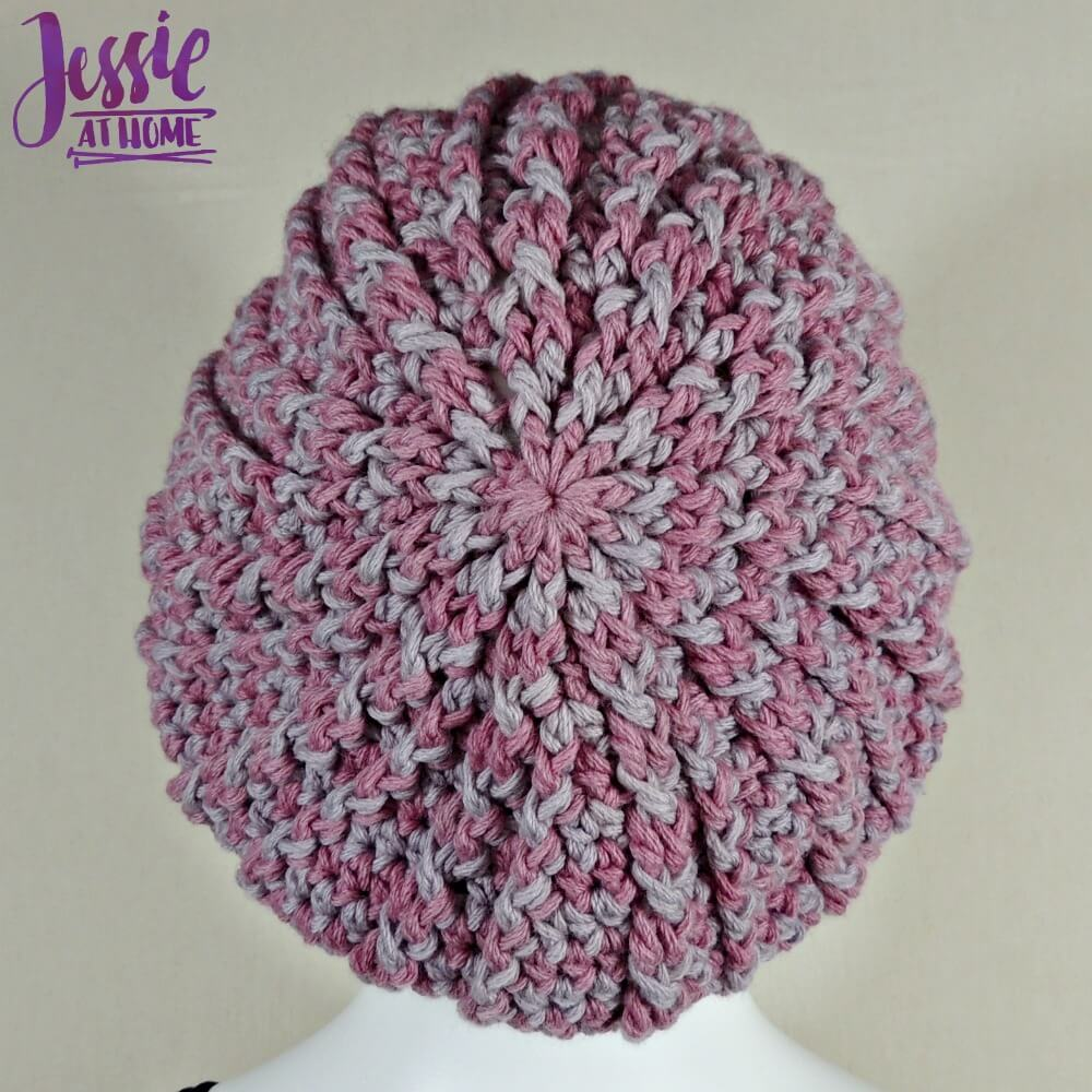 Vines and Twigs Slouch Hat free crochet pattern by Jessie At Home - 2