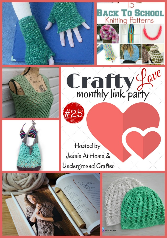 Crafty Love Link Party 25 most clicked