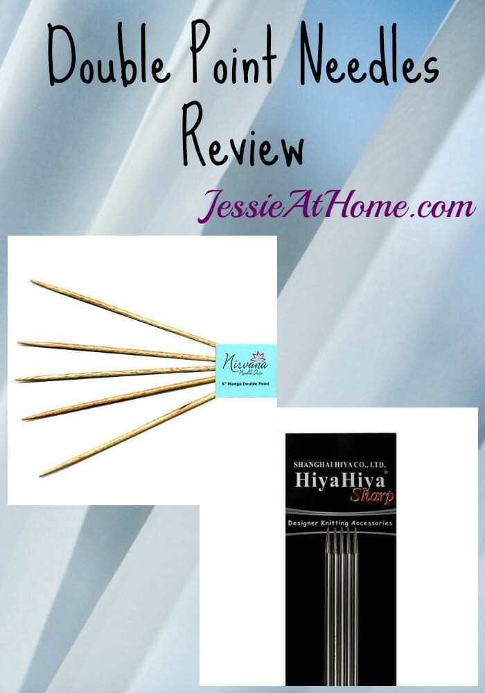 Double Point Needles Review from Jessie At Home