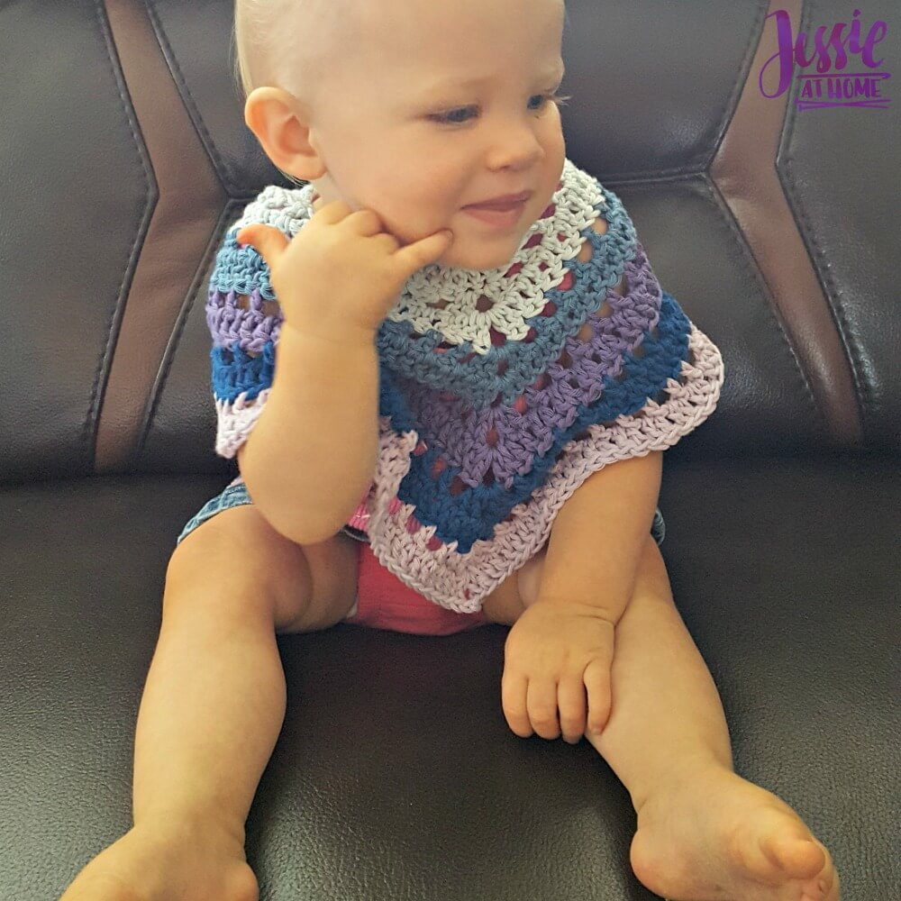 Evie Poncho free crochet pattern by Jessie At Home - 2