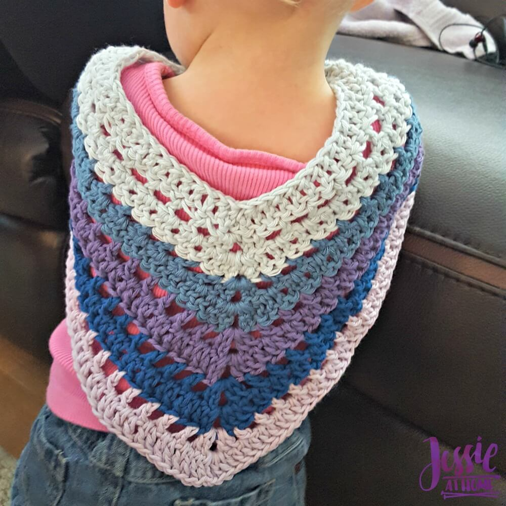 Evie Poncho free crochet pattern by Jessie At Home - 3