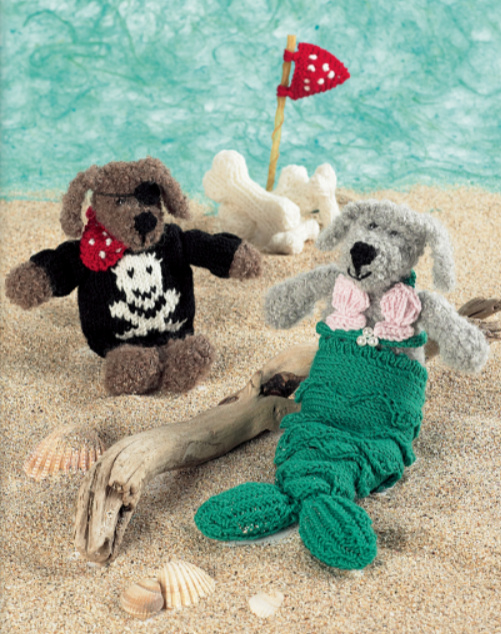 Knitted Cats and Dogs Dress Up Dogs